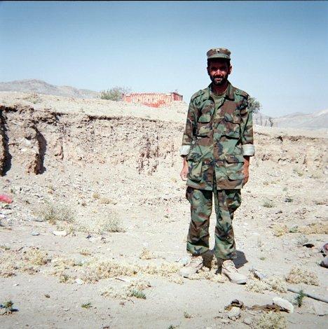 Afgański wojskowy