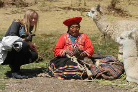Pamiątkowe zdjęcie z Peru