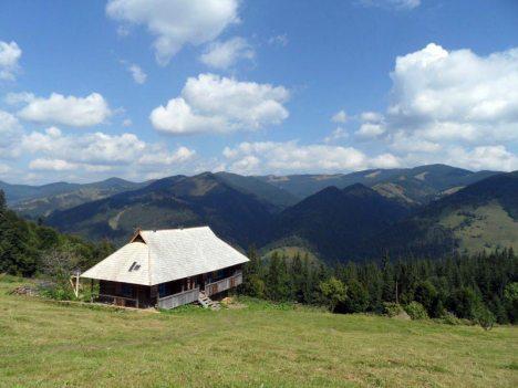 Ukraina, Kosaryszcz w pasmie Czarnohory