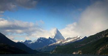 Fitz Roy góra w Ameryce Południowej