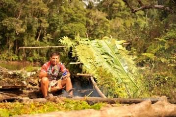 Nocleg w dziewiczej dżungli