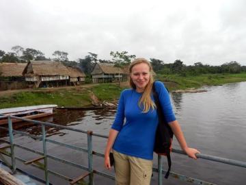 Ola Kamińska w Peru