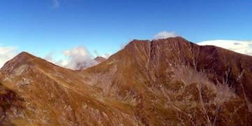Moldoveanu - najwyższa góra rumuńskich Karpat