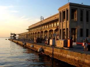 Zdjęcie z Włoch. Port w Trieście