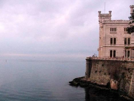 Zdjęcia z Włoch. Zamek Miramare w Trieście