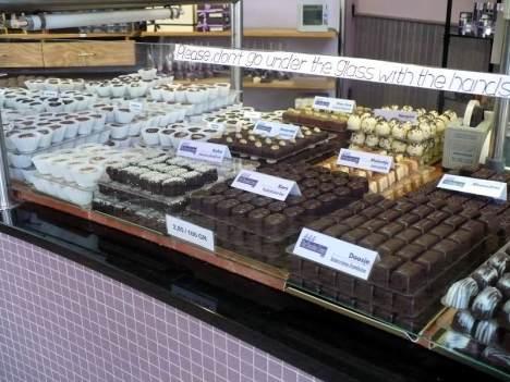 Sklep z czekoladą w Antwerpii