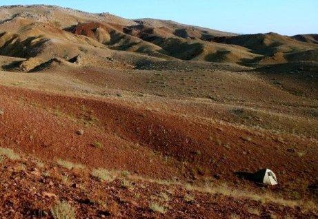 biwak na Marsie
