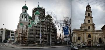 Zabytki Wilna - zdjęcia z podróży na Litwę