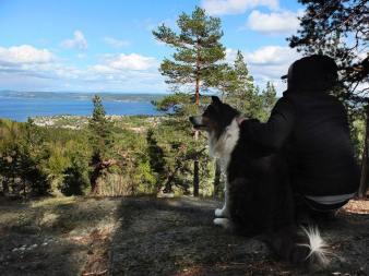 Spacer po norweskich górach