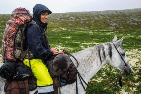 Karen Anna Kiaer - jazda konna w Norwegii