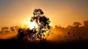 Zachód słońca na CSR