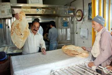 Piekarnia w Iranie - foto