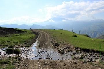 Droga przez Azerbejdżan