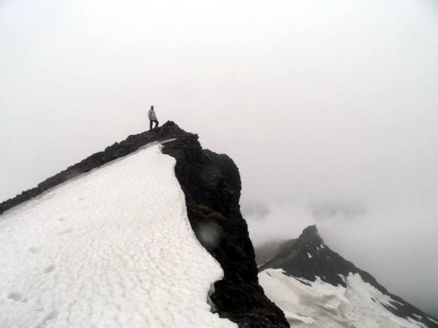 Vatnajokull - szczyt górski na Islandii