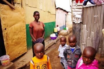 Slumsy w Kenii