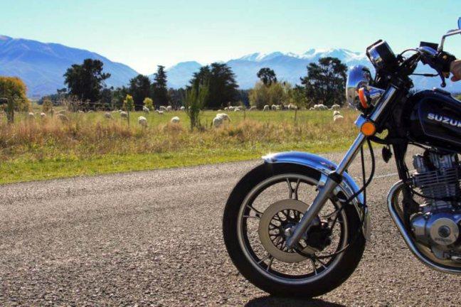 Motocyklem przez Nową Zelandię