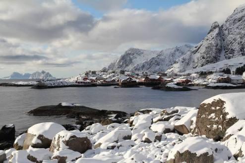 Norwegia, wyspa Moskenesoya