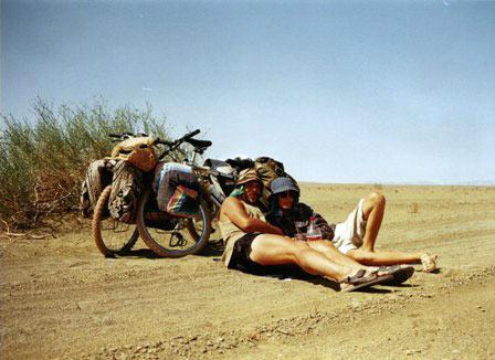 Rowerem przez Namibię