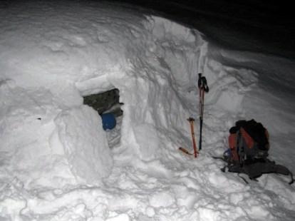 Iglo czyli zima w Alpach