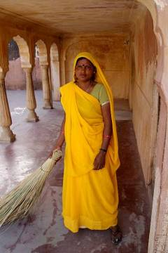 Hinduska z kasty nietykalnych