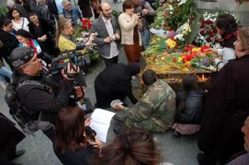 Gruzini w Tibilisi świętują
