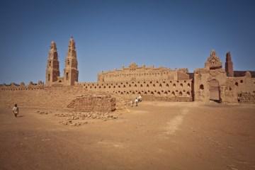 Meczet w Bani - zdjęcia z podróży do Burkina Faso