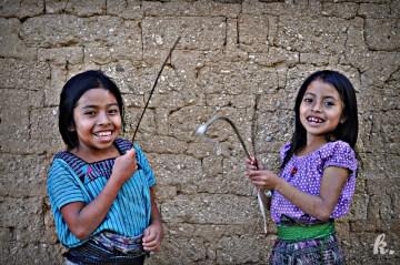 Dziewczynki z Ameryki Środkowej - foto