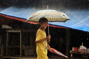 Monsun w Birmie - zdjęcia z podróży