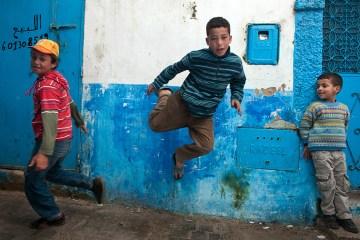 Młody chłopak z Maroka - foto