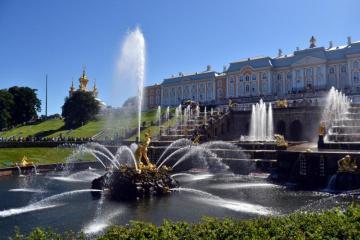 Zabytki Sankt Petersburga - Peterhof
