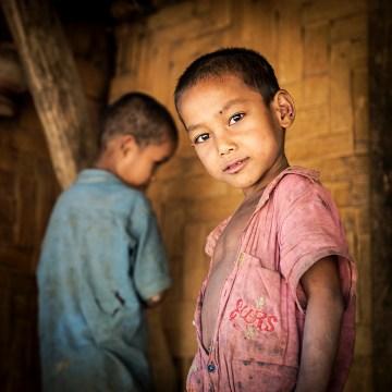 Dzieci z gór Bangladeszu