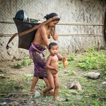 Murung - zdjęcia rdzennej ludności Bangladeszu