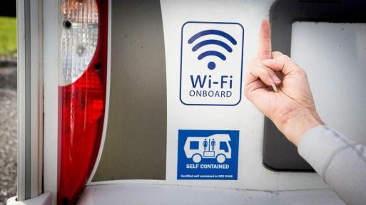 Nowa Zelandia - kamper z wc i wi-fi