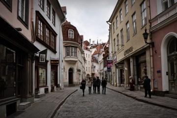 Stare Miasto w stolicy Estonii - zdjęcia