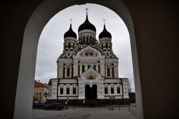 Tallinn. Sobór św. Aleksandra Newskiego - foto