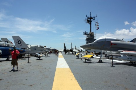 Lotniskowiec - muzeum, USS Lexington
