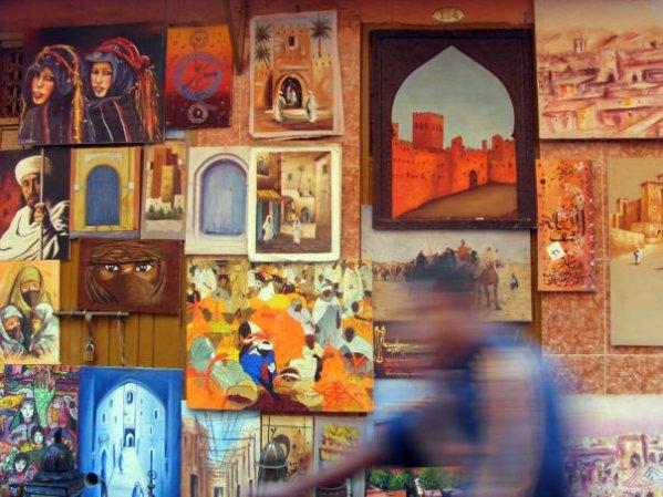 Bazar w Marrakeszu