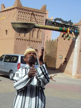 Marokański muzyk