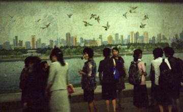Metro w Pyongyang - podróż do Korei Północnej