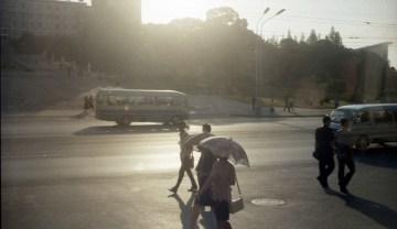 Ulice Pyongyangu - foto