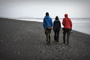 Plaże w Islandii raczej nie nadaja się do opalania
