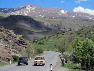 Autostopem przez Armenię