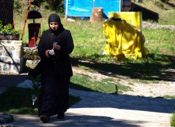 Ortodoksyjna mniszka z Serbii