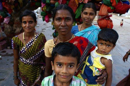 Usmiechnieci Hindusi