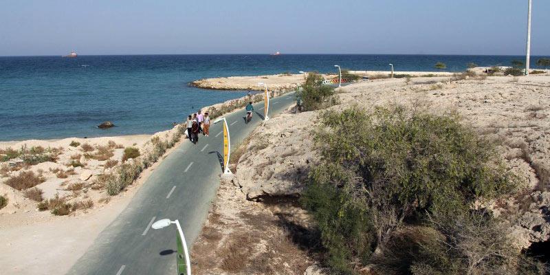 Irańska ścieżka rowerowa