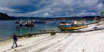 Chioe. Port w Dalcahue