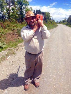Pedro - cieśla z Chile