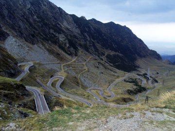 Motocyklem przez trasę Transfogarską - Rumunia