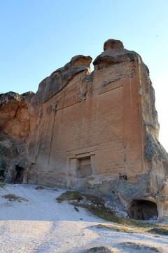 Monument Midasa w tureckiej miejscowości Yazilikaya