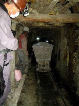 Potosi - we wnętrzu kopalni